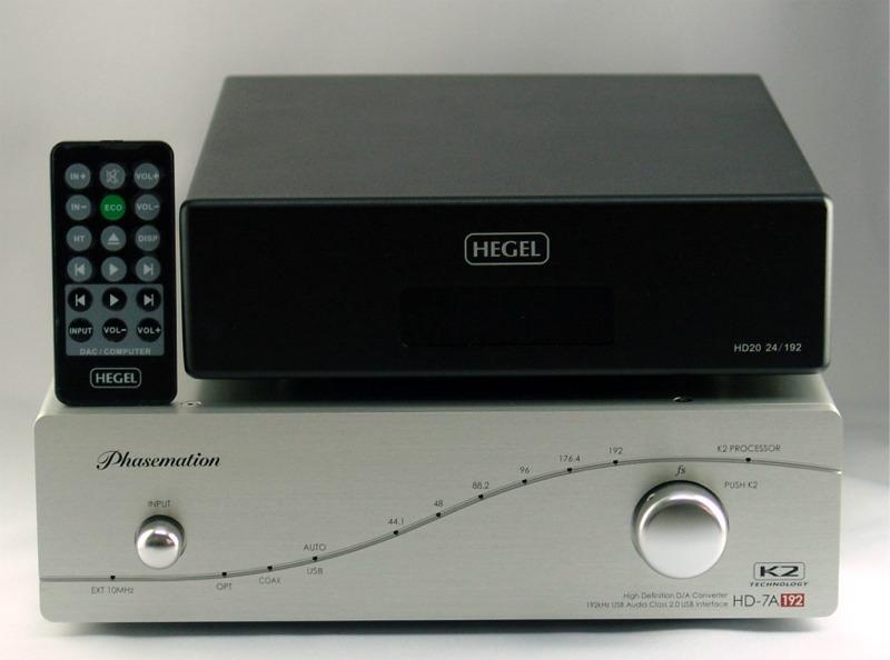 Phaseteck HD-7A192 Hegel HD20 フェイズテック ヘーゲル 音質 テスト 評価 販売 比較